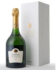 正規 箱入り コント ド シャンパーニュ ブラン ド ブラン [ 2007 ]テタンジェ ( 泡 白 ) シャンパン シャンパーニュ (ワイン(=750ml)8本まで同梱可能)