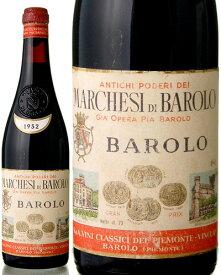バローロ [ 1952 ]マルケージ ディ バローロ ( 赤ワイン )※ラベル瓶&キャップに汚れ・破れ・傷有り※ [J][S]