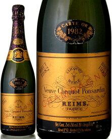 カルト ドール [ 1982 ]ヴーヴクリコ ( 泡 白 ) シャンパン シャンパーニュ [S]