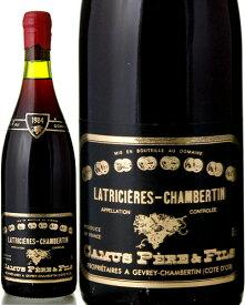 ラトリシエール シャンベルタン グラン クリュ [ 1984 ]カミュ ( 赤ワイン )