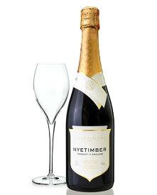 【オリジナルグラス1脚付き】ブラン ド ブラン [ 2013 ] ナイティンバー ( 泡 白 )(ワイン(=750ml)8 本と同梱可)