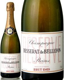 ブリュット レゼルヴ [ 1969 ]ベスラ ド ベルフォン ( 泡 白 ) シャンパン シャンパーニュ [S]