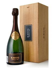 木箱入り クリュッグ コレクション [ 1988 ] ( 泡 白 ) シャンパン シャンパーニュ(ワイン(=750ml)4 本と同梱可)[S]