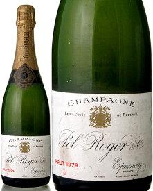 ポル ロジェ ブリュット ミレジメ [ 1979 ] ( 泡 白 ) シャンパン シャンパーニュ[S]