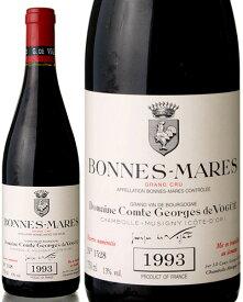 ボンヌ マール グラン クリュ [ 1993 ]コント ジョルジュ ド ヴォギュエ ( 赤ワイン ) [S]