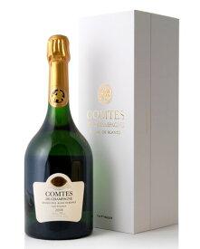 正規 箱入り コント ド シャンパーニュ ブラン ド ブラン [ 2008 ]テタンジェ ( 泡 白 ) (ワイン(=750ml)8本まで同梱可能) シャンパン シャンパーニュ
