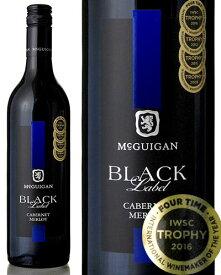 ブラック ラベル カベルネ メルロー [ 2016 ] マクギガン ワインズ ( 赤ワイン )