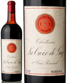 【B】シャトー ラ クロワ ド ゲイ [ 1947 ](Vandermeulen ヴァンダーミューレン) ( 赤ワイン ) [S]