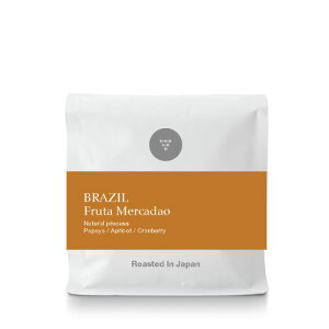 ●【100g】ブラジル フルッタ メルカドン ( BRAZIL Fruta Mercadao ) (スペシャルティコーヒー)[C]
