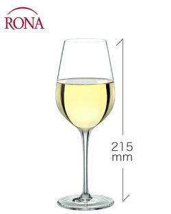 クラッシック白ワイン340ml(RONA)1脚(ワイングラス・RONAシリーズ)