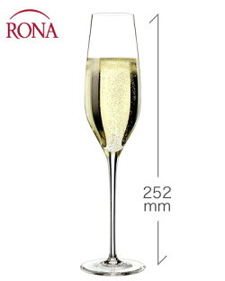 クラッシックシャンパーニュ210ml(RONA)1脚(ワイングラス・RONAシリーズ)