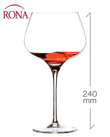ロナ RONA スタイリッシュ ブルゴーニュ 720ml 1脚 (ワイングラス カリスマ Charisma) (1脚につき、ワイン(=750ml)10本と同梱可)