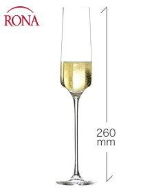 ロナ RONA スタイリッシュ シャンパーニュ 190ml 1脚 (ワイングラス カリスマ Charisma) (ワイン(=750ml)11本と同梱可)