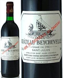 シャトー ベイシュヴェル [ 1986 ] ( 赤ワイン ) [J][S]