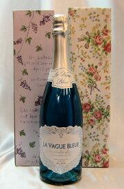 ラ ヴァーグ ブルー青色 スパークリングワイン(エルヴェケルラン) 辛口 青色 スパークリングワイン 750mlLA VAGUE BLEND Sparkling Wine (Blue) Herve Kerlann ギフト 結婚祝い