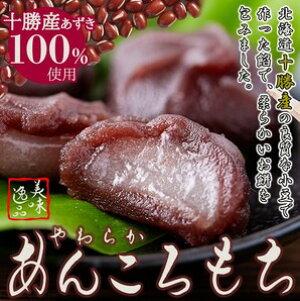 北海道十勝産小豆を100%使用!!やわらか!あんころもち24個(12個入×2袋) 和菓子 大容量 卒業 謝恩会 おすそ分け