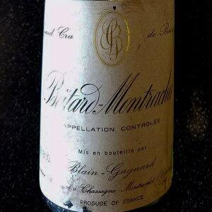 2001 バタールモンラッシェ 生産者 ブランガニャール 天然地下蔵熟成ワイン
