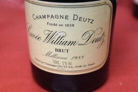 ドゥーツ / キュヴェ・ウイリアム・ドゥーツ [1988]【シャンパン(泡物)】