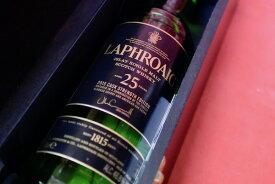 ラフロイグ / 25年 43% 2015 ボトリング【モルト・ウイスキー】