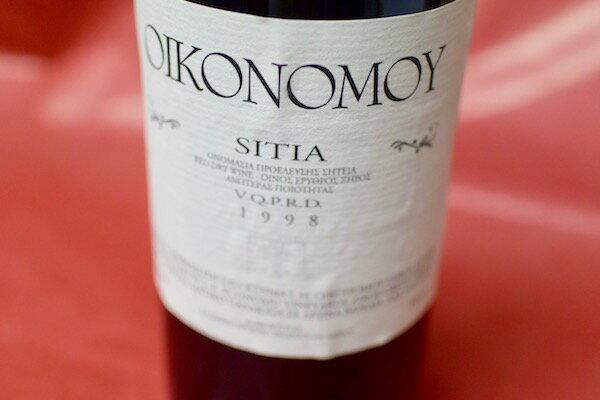ドメーヌ・エコノム / シーティア [1998]【赤ワイン】