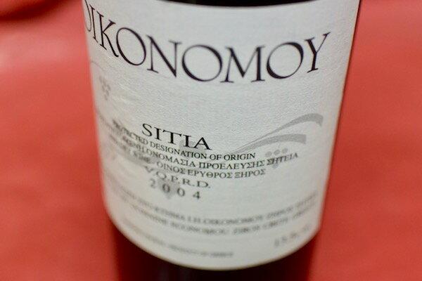 ドメーヌ・エコノム / シーティア [2004]【赤ワイン】