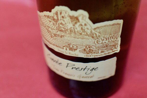 アンヌ・エ・ジャン・フランソワ・ガヌヴァ / コート・デュ・ジュラ・キュヴェ・プレステージ 2008【白ワイン】