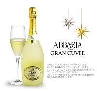 【送料・ラッピング込】アッバチーアグラン・キュヴェスパークリングギフト(泡1)【あす楽対応_関東】【smtb-T】ワインギフトスパークリングワイン父の日