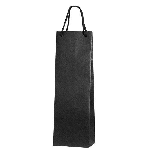 マットカラーワインバッグ (黒/1本用) ※ワインは別売です。 ※ボトル直入れ用(ラッピングした物は入りません) 【あす楽対応_関東】
