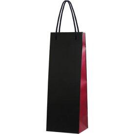 ツートンカラーワインバッグ (ワイン×黒 1本用) ※ワインは別売り 【あす楽対応_関東】