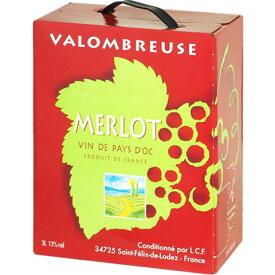 ボックスワイン 箱ワイン boxワイン 【BOXよりどり6個送料無料】【赤】ジャンジャン メルロー バッグインボックス 3,000ml 【あす楽対応_関東】