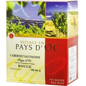 【BOXよりどり6個で送料無料】 【赤】ヴォヤージ バッグインボックス カベルネ・ソーヴィニヨン 3,000ml 【あす楽対応_関東】ボックスワイン 箱ワイン boxワイン