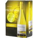 ボックスワイン 箱ワイン boxワイン 【BOXよりどり6個で送料無料】 【白】フロンテラ シャルドネ バッグインボック…