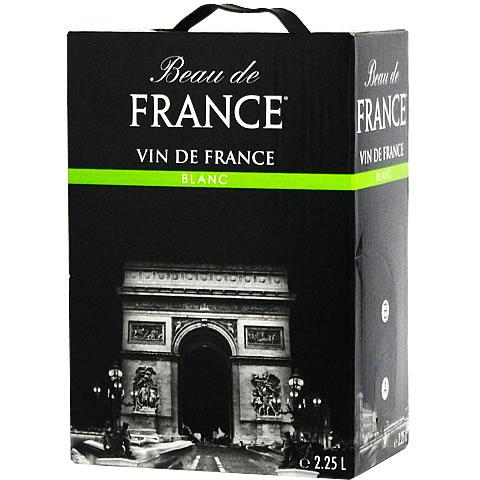 【BOXよりどり6個で送料無料】 <白> ボー・ド・フランス ブラン 2,250ml バッグインボックス 【あす楽対応_関東】 ボックスワイン 箱ワイン BOXワイン パック【L】