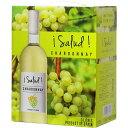 ボックスワイン 箱ワイン boxワイン 【BOXよりどり6個で送料無料】 <白>サルー シャルドネ バッグインボックス 3,…