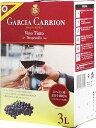 ボックスワイン 箱ワイン boxワイン 【BOXよりどり6個で送料無料】 【赤】 ガルシア・カリオン テンプラニーリョ バ…