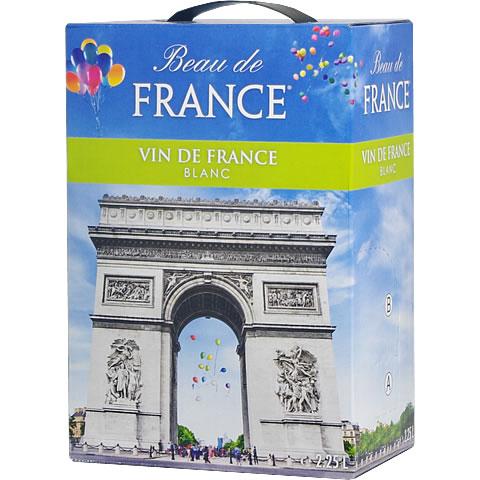 ボックスワイン 箱ワイン boxワイン 【BOXよりどり6個で送料無料】 <白> ボー・ド・フランス ブラン 2,250ml バッグインボックス 【あす楽対応_関東】パック