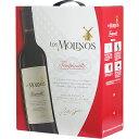ボックスワイン 箱ワイン boxワイン 【BOXよりどり6個で送料無料】 ロス・モリノス テンプラニーリョ バッグインボックス 3,000ml