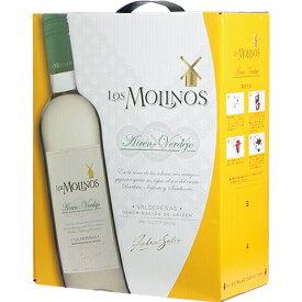 ボックスワイン 箱ワイン boxワイン 【BOXよりどり6個で送料無料】 ロス・モリノス アイレン・ベルデホ バッグインボックス 3,000ml