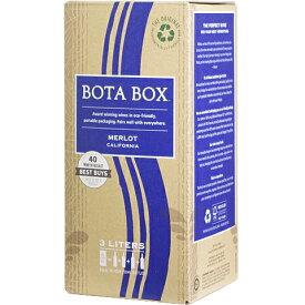 ボックスワイン 箱ワイン boxワイン 【赤】ボタ メルロー バッグインボックス 3,000ml 【あす楽対応_関東】