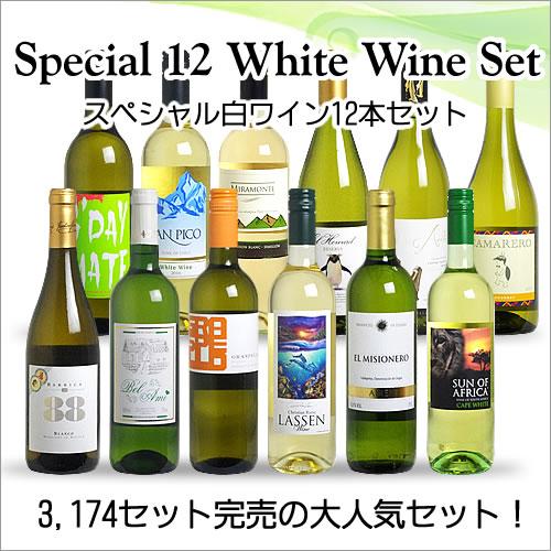 【送料無料】 <第44弾> スペシャル白ワイン12本セット(白12本) ※同梱不可【あす楽対応_関東】