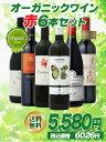 オーガニックワイン赤6本 【赤ワインセット】