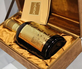 三得利創始人 1899年與紀念限量版瓶麂皮絨框 760 毫升框 SUTORY 建立在 1899 Comemorative 瓶 43%