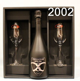 有infinitieitomirejime·buryutto[2002]riderupeagurasusetto champagne infinite 8 BRUT禮物BOX