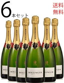 6本セット ボランジェ スペシャル・キュヴェ NVBollinger Special Cuvee 750ml×6 セット シャンパン スパークリングワイン スパークリング ワイン ギフト プレゼント 辛口 父の日