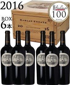 6本セット ハーラン レッド ワイン ナパヴァレー[2016]ハーランエステート HARLAN ESTATE HARLAN RED WINE NAPA VALLEY 木箱750ml×6本