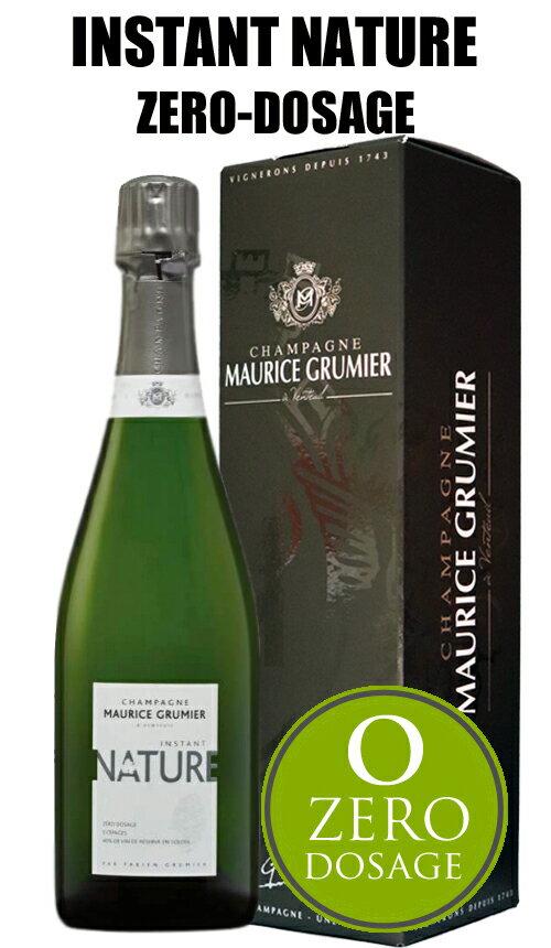 モーリス グルミエ アンスタン ナチュール ゼロ・ドサージュ[NV]MAURICE GRUMIER INSTANT NATURE ZERO-DOSAGE Champagne シャンパーニュ BOX