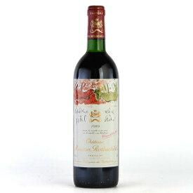 シャトー・ムートン・ロートシルト[1989]750mI【結婚記念日】 【赤ワイン 】【コク辛口】【誕生年】【楽ギフ_包装】【お歳暮】【ワインギフト】