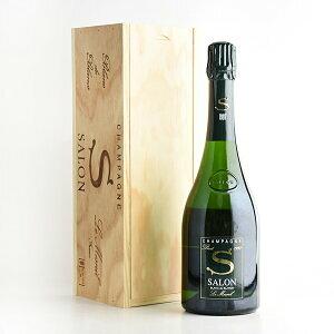 1997 サロン ブラン・ド・ブラン 【木箱入り 】750mi【結婚記念日】 【シャンパーニュ】【誕生年】【あす楽対応】【お歳暮】【ワインギフト】《取り寄せ商品》*画像はイメージです。