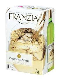 【大容量3L】フランジア カリフォルニア ホワイト 白 3,000ml バッグ イン ボックス(ザ ワイン グループ) ワインタップ アメリカ カリフォルニア 白ワイン ワイン やや辛口FRANZIA California White Wine Bag in Box 3,000ml (25-28 Glasses)