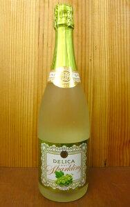 【888均】デリカ・フルーツ・スパークリング・マスカット(フレシネ社)・750ml・6.5%Delica Fruit Sparkling Muscat (Freixenet & Suntory)